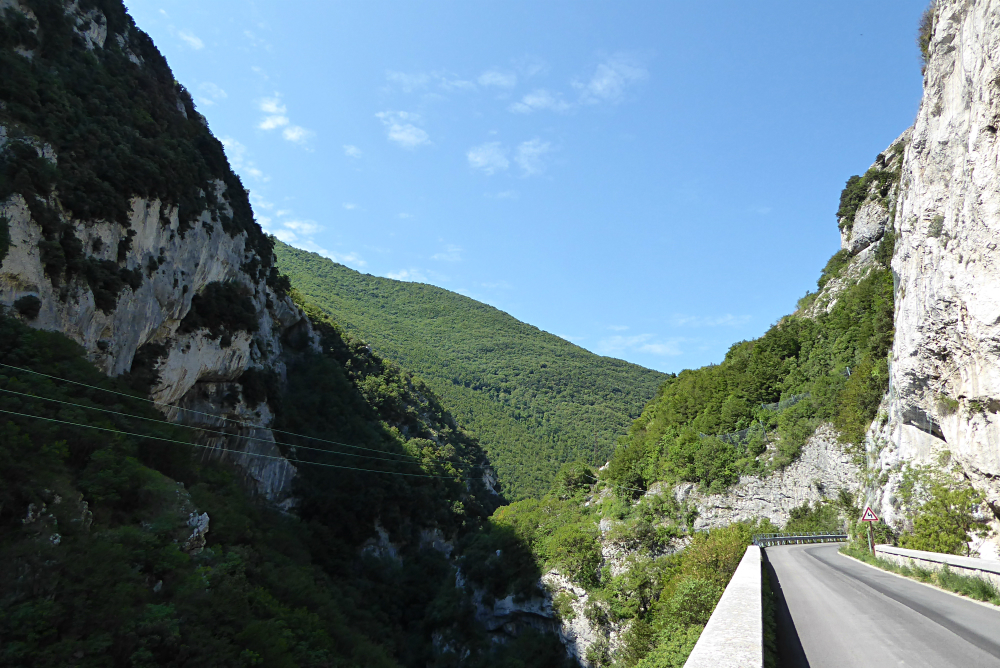 Monte Cucco Park Gorge