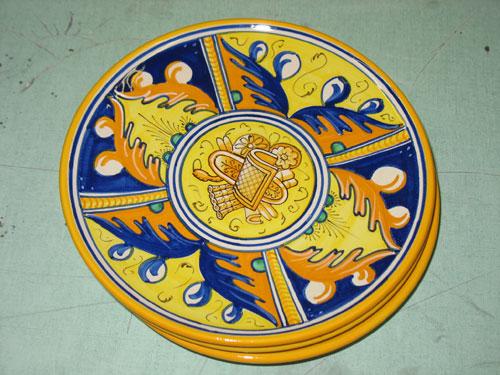 Urbania ceramics painted