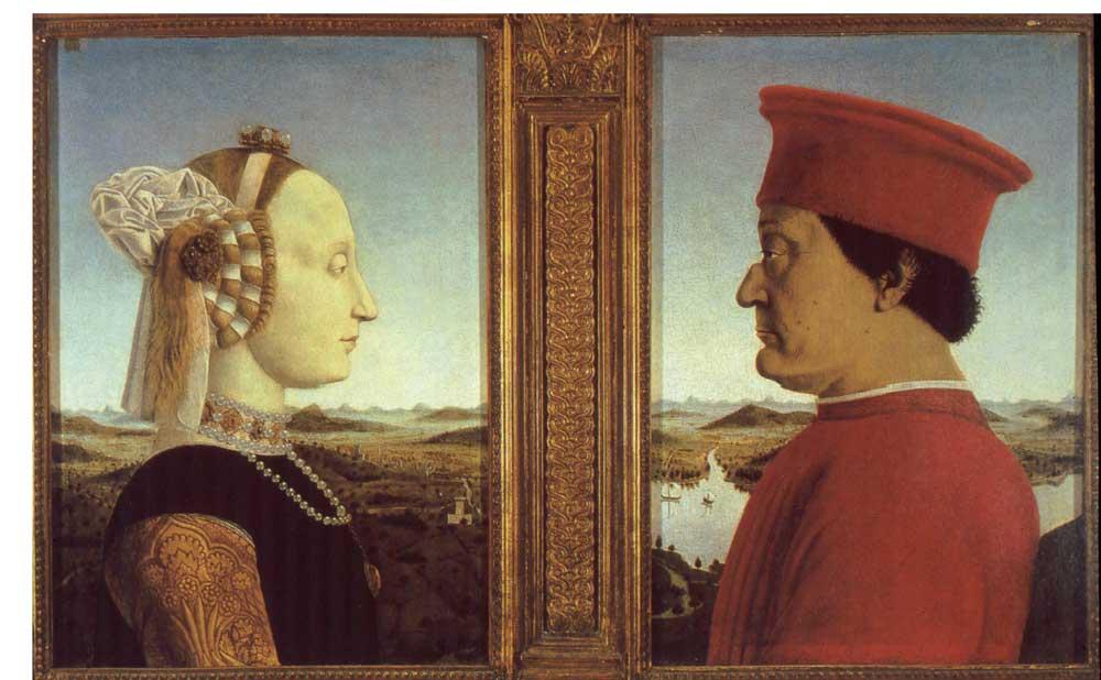 Dittico-Montefeltro-Sforza