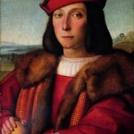 Ritratto di giovane col pomo in Urbino