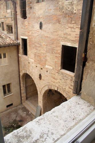 Urbino old synagogue