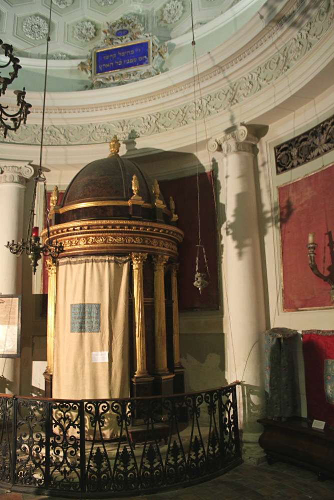new Urbino synagogue ark