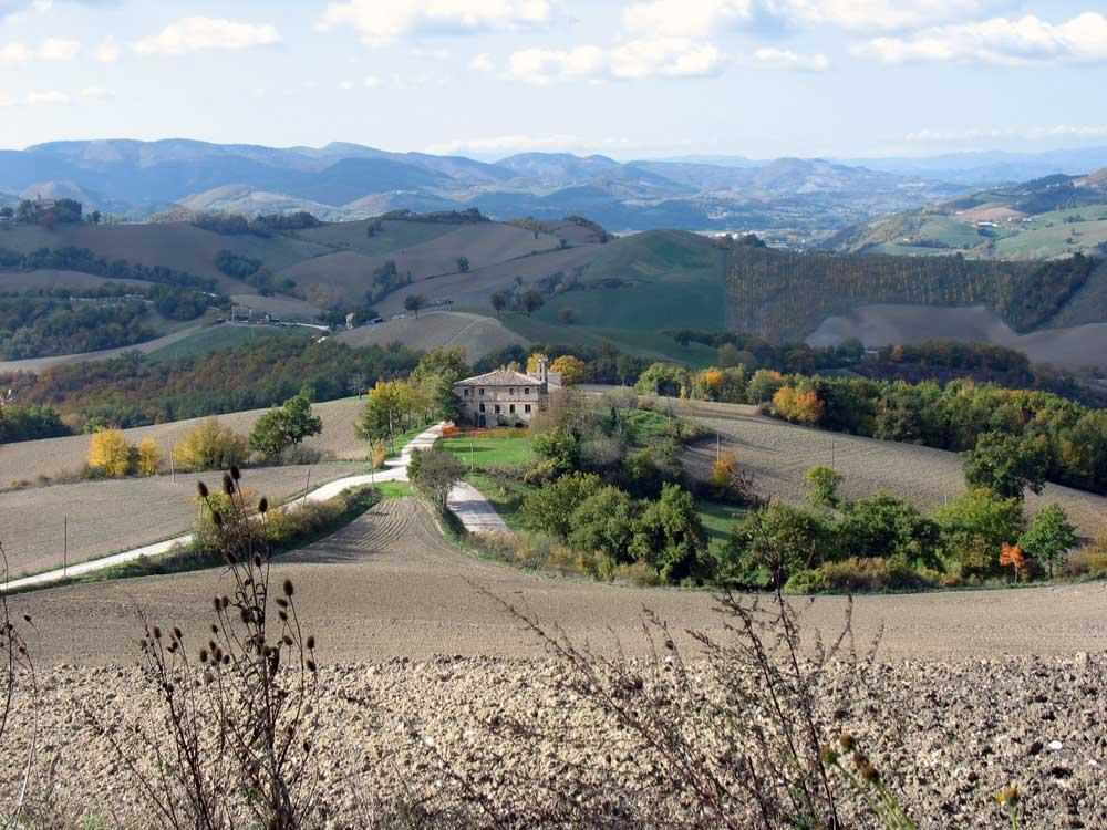 Le Marche hills Autumn