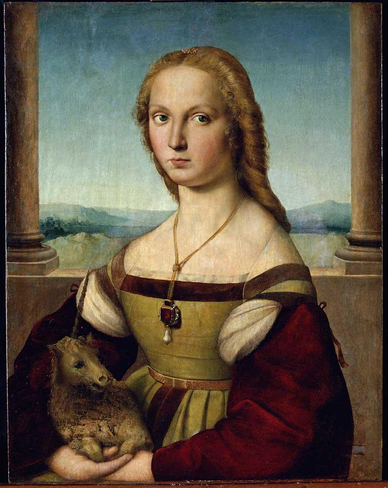 Raffaello-Dama-con-Liocorno