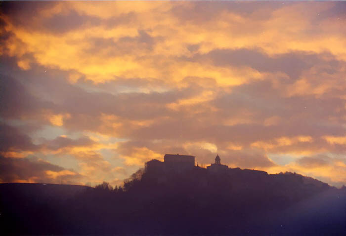Paese nuvole Polipao