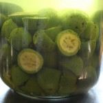 FORAGING: green walnuts for Nocino