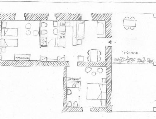 A new apartment: La Casina Nuova