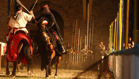 Italy festivals Palios and Reenactments Le Marche