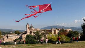 Italy festivals Urbino kite festival