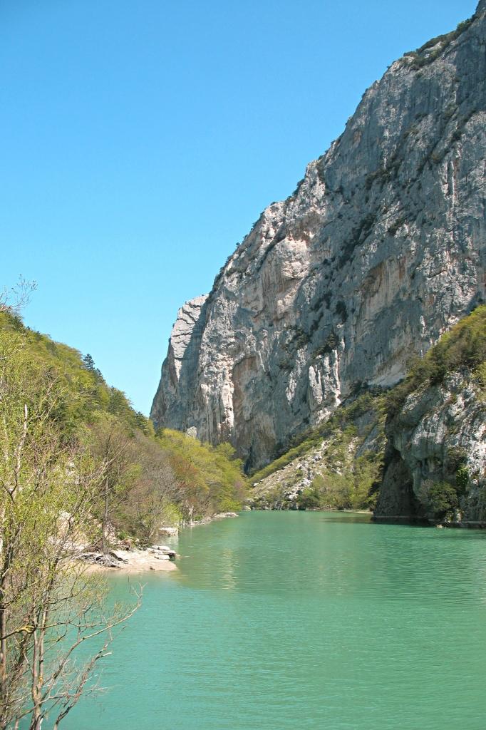 Furlo Gorge near Urbino Italy