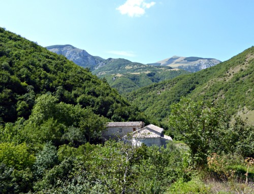 Monte Cucco & Fonte Avellana Umbria & Le Marche border