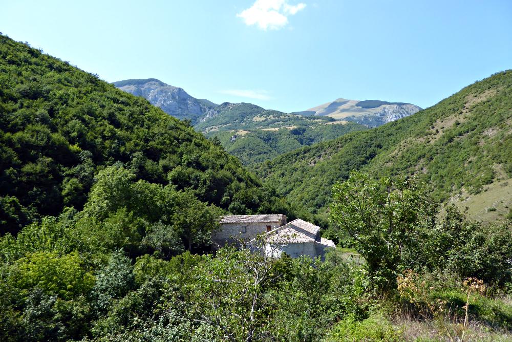 Abbazia di Sitria - Between Umbria and Le Marche