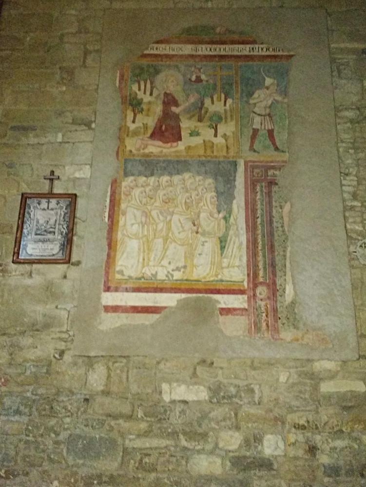 Fresco San Girolamo Carpegna