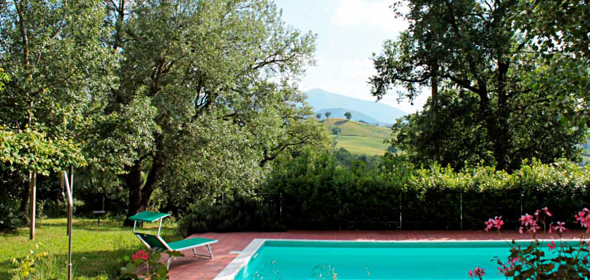 Agriturismo Marche Urbino Swimming pool
