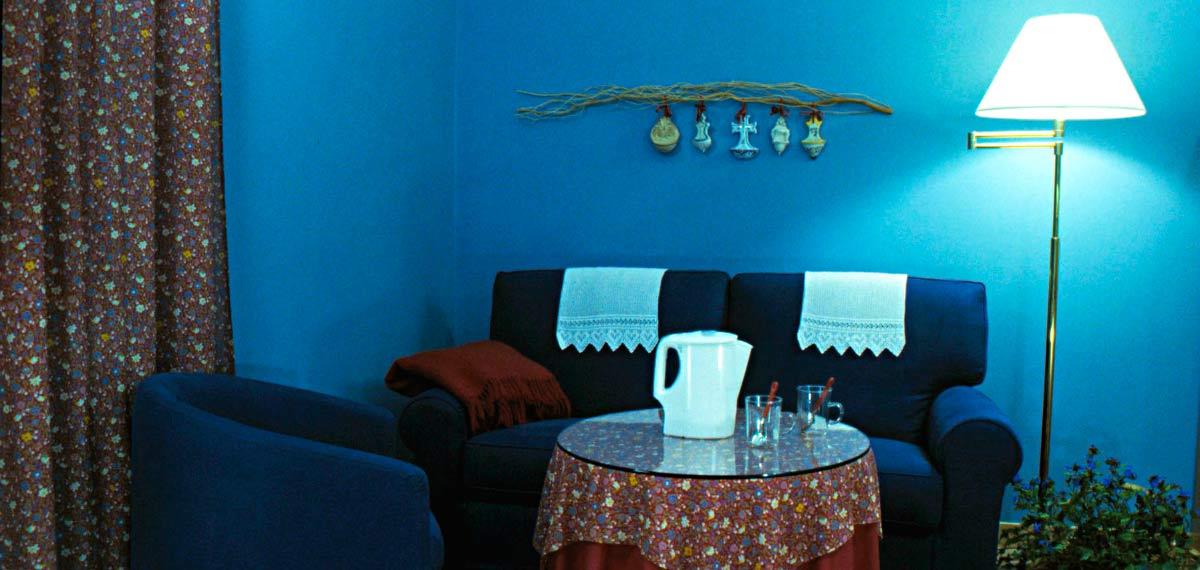 blu divano
