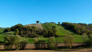 Autumn walk hills Le Marche Urbino Italy nature relax