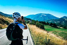 Biking Marche Italy Monte Nerone