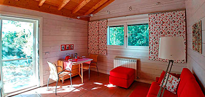 Marche Italy holiday rental sitting room