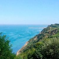 Monte San Bartolo Cliffs Marche Italy Accommodation