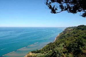 Nature Adriatic Sea Monte San Bartolo Cliffs Marche