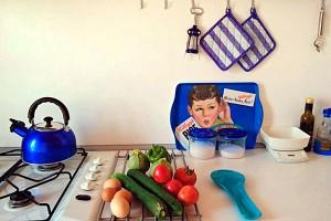 Accommodation Marche kitchen