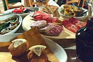 Eating out Urbino Fermignano Marche Italy Agriturismo Ca Maddalena