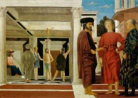 Piero della Francesca Flagellazione Ducal Palace Urbino Marche tourism