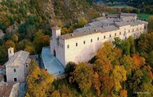 Piobbico castle medieval renaissance central Italy village