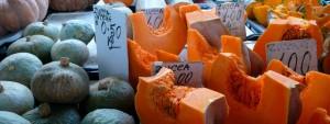 Pumpkin Autumn market stall Italy