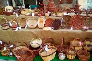 Salcevivo association basket weaving artisans Urbino Marche Italy