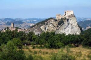 San Leo Emilia Romagna Marche Fortress Marche tourism Italy Turismo