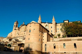 Urbino torricini Ducal Palace Duomo Cathedral Marche Italy