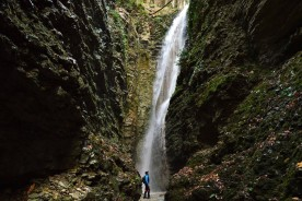 Northern le Marche hike trek walk waterfall guided trekking