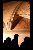 Urbino Le Marche Window frescoes Art