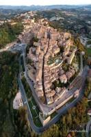 Urbino from the sky Photo Paolo Mini
