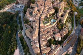 Urbino from the sky Photo Paolo Mini