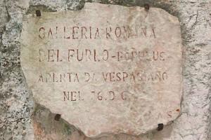 Via Flaminia Rome Fano Furlo tunnel Roman archaeology Italy