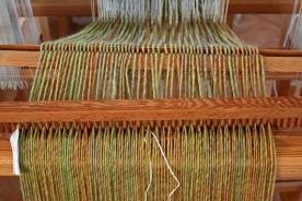 Weaving loom Urbino Marche Italy
