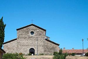 Lamoli Le Marche Tuscany border Italy church
