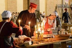Old crafts reenactments Marche festivals