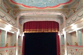 Mondavio theatre theatres of le Marche Italy holiday tourism