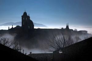 Urbino silouette clouds Paolo Mini