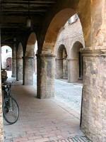 Urbania portici old village italy Marche tourism off the beaten track