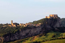 San Leo Emilia Romagna Marche unknown italy medieval Renaissance fortress