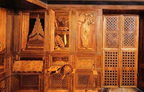 Marche music Studio Duke of Montefeltro Ducal Palace Urbino