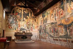 Saint John Oratory Urbino Le Marche Italy Medieval art