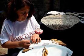 Tombolo Urbino Marche pillowlace Italy