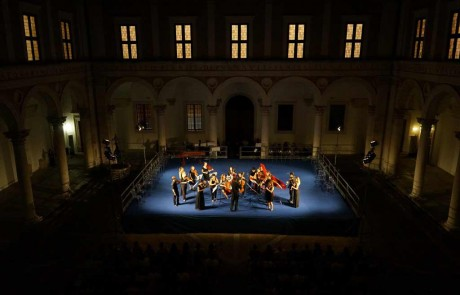 Early music festival Urbino Music ducal palace Marche Italy