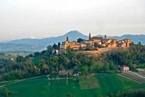 Mondavio Italy hilltop town fortress Renaissance village fortified