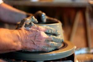 Urbania ceramics fair pottery majolica Marche Italy
